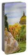 Colors Of Russia Monuments Of Saint Petersburg Portable Battery Charger