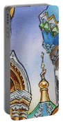 Colors Of Russia St Petersburg Cathedral II Portable Battery Charger