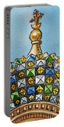 Colors Of Russia St Petersburg Cathedral IIi Portable Battery Charger by Irina Sztukowski