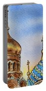 Colors Of Russia St Petersburg Cathedral Iv Portable Battery Charger by Irina Sztukowski