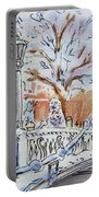 Colors Of Russia Winter In Saint Petersburg Portable Battery Charger