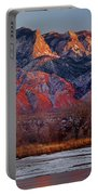 214501-colors Of Sandia Crest  Portable Battery Charger