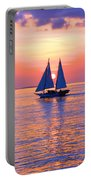 Colors Of Sunset Portable Battery Charger