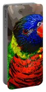 Colors Of The Lorikeet Portable Battery Charger