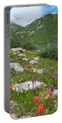 Colors Of The Rainbow - Colorado Mountain Summer Portable Battery Charger