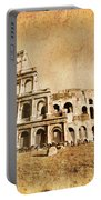 Colosseum Grunge Portable Battery Charger