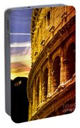Colosseum Sunset Portable Battery Charger