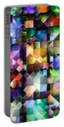 Colourful Fractal Jewels Portable Battery Charger