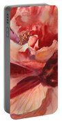 Colourful Hibiscus Portable Battery Charger