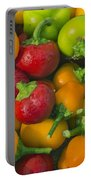 Colourful Mini Bell Peppers Portable Battery Charger