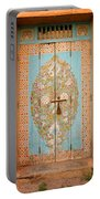 Colourful Moroccan Entrance Door Sale Rabat Morocco Portable Battery Charger