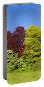 Colourful Trees Portable Battery Charger