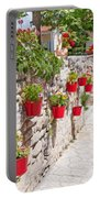 Colourful Flower Pots Portable Battery Charger