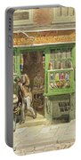 Colourmans Shop, St Martins Lane, 1829 Wc On Paper Portable Battery Charger