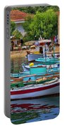 Colours Of Greece Portable Battery Charger