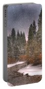 Colours Of Winter Portable Battery Charger by Juli Scalzi
