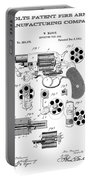 Colt Revolver Patent Art 3  -  1881  Portable Battery Charger