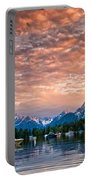 Colter Bay Sunset Portable Battery Charger