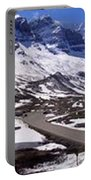 Columbia Icefields, Alberta - Panorama Portable Battery Charger