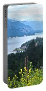 Columbia Lake Which Is Source Of The Columbia River-bc  Portable Battery Charger