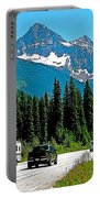 Columbia Mountains In Glacier Np-british Columbia Portable Battery Charger