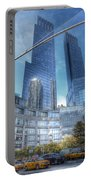 New York - Columbus Circle - Time Warner Center Portable Battery Charger