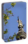 Columbus Monument - Barcelona Portable Battery Charger