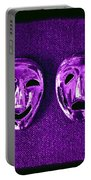 Comedy And Tragedy Masks 2 Portable Battery Charger
