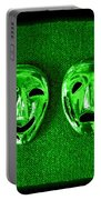Comedy And Tragedy Masks 3 Portable Battery Charger