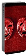 Comedy And Tragedy Masks 4 Portable Battery Charger