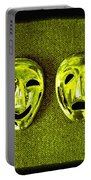 Comedy And Tragedy Masks 6 Portable Battery Charger