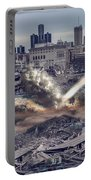 Comerica Park Asteroid Portable Battery Charger