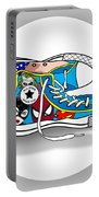 Comics Shoes 2 Portable Battery Charger