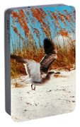 Windy Seagull Landing Portable Battery Charger