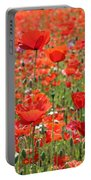 Commemorative Poppies Portable Battery Charger