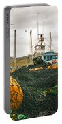 Commercial Fishing In The North Atlantic Portable Battery Charger