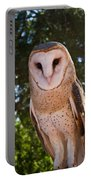 Common Barn Owl 1 Portable Battery Charger