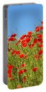 Common Poppy Flowers  Portable Battery Charger