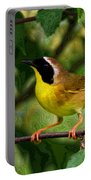 Common Yellowthroat Warbler Portable Battery Charger