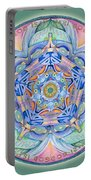 Compassion Mandala Portable Battery Charger