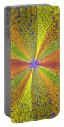 Computer Generated Fractal Art Portable Battery Charger