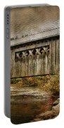 Comstock Bridge 2012 Portable Battery Charger by Deborah Benoit