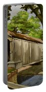 Comstock Covered Bridge East Hamptom Connecticut Portable Battery Charger