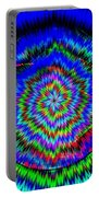 Concentric Hypnotic Circles 1 Portable Battery Charger