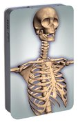 Conceptual Image Of Human Rib Cage Portable Battery Charger