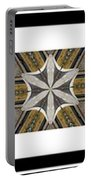 Concrete Flowers - Kaleidoscope - Pentaptych Portable Battery Charger