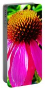 Cone Flower Portable Battery Charger