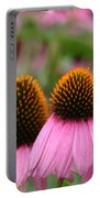 Cone Flower Trio Portable Battery Charger
