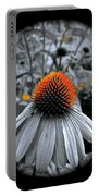 Coneflower Gold Portable Battery Charger