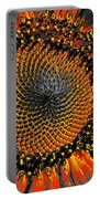 Coneflower Heart Portable Battery Charger